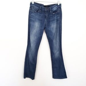 Joe's Jeans Rocker Distressed Destroyed Denim 25